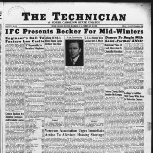 Technician, Vol. 26 No. 18, February 22, 1946