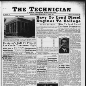 Technician, Vol. 26 No. 19, March 1, 1946