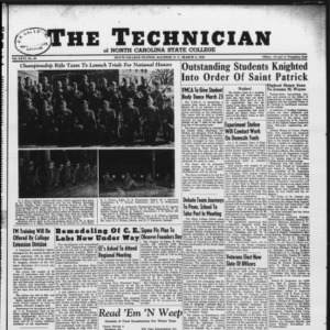 Technician, Vol. 26 No. 20, March 8, 1946