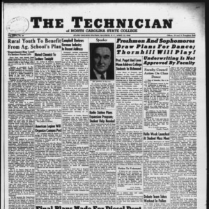 Technician, Vol. 26 No. 23, April 12, 1946
