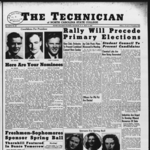 Technician, Vol. 26 No. 26, May 3, 1946