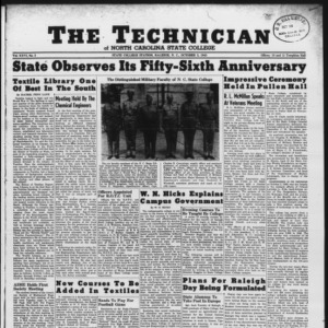 Technician, Vol. 26 No. 3, October 5, 1945