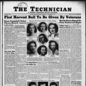 Technician, Vol. 26 No. 6, October 26, 1945
