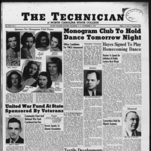 Technician, Vol. 26 No. 7, November 2, 1945