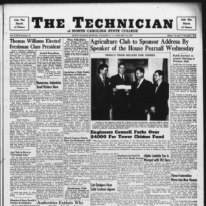 Technician, Vol. 27 No. 15, January 24, 1947