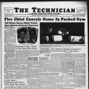 Technician, Vol. 27 No. 20, February 28, 1947