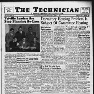 Technician, Vol. 27 No. 21, March 7, 1947