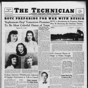 Technician, Vol. 27 No. 25, April 18, 1947