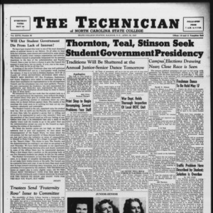 Technician, Vol. 27 No. 26, April 25, 1947