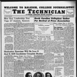 Technician, Vol. 27 No. 28, May 9, 1947