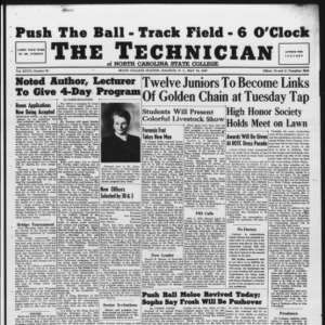 Technician, Vol. 27 No. 29, May 16, 1947