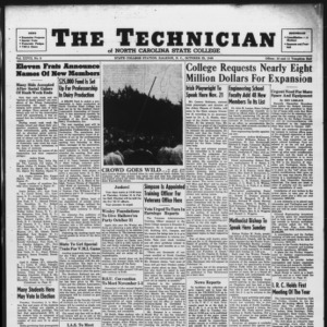 Technician, Vol. 27 No. 5, October 25, 1946