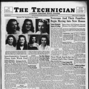 Technician, Vol. 27 No. 9, November 22, 1946