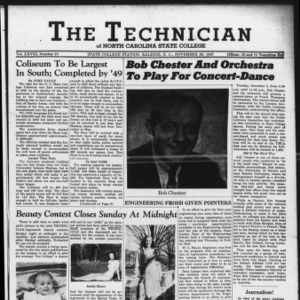 Technician, Vol. 28 No. 10, November 28, 1947