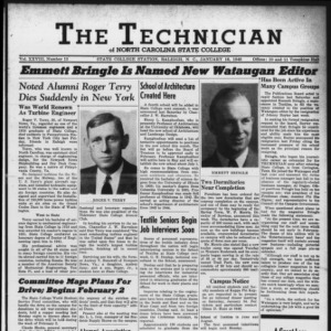 Technician, Vol. 28 No. 13, January 16, 1948