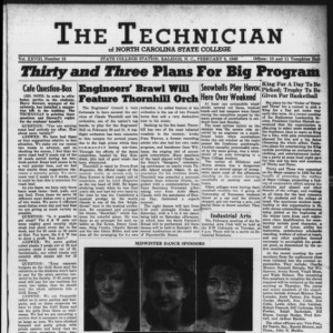 Technician, Vol. 28 No. 16, February 6, 1948