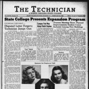 Technician, Vol. 28 No. 18, February 20, 1948