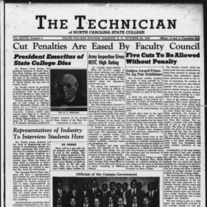 Technician, Vol. 28 No. 5, October 24, 1947