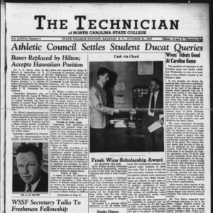 Technician, Vol. 28 No. 6, October 31, 1947