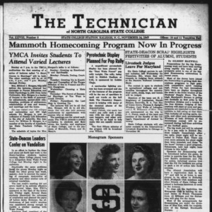 Technician, Vol. 28 No. 8, November 14, 1947