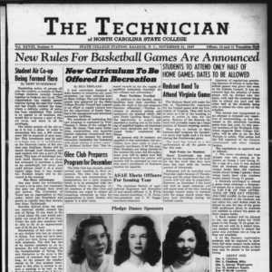 Technician, Vol. 28 No. 9, November 21, 1947