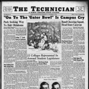 Technician, Vol. 29 No. 12 [Vol. 27 No. 12], December 13, 1946