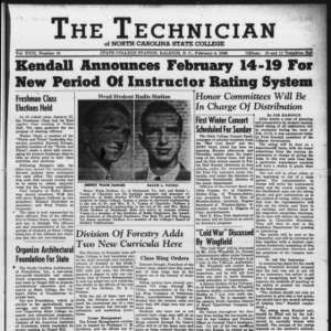 Technician, Vol. 29 No. 16, February 4, 1949