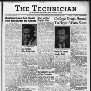 Technician, Vol. 29 No. 17, February 11, 1949