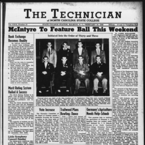 Technician, Vol. 29 No. 18, February 18, 1949