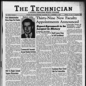 Technician, Vol. 29 No. 2, October 1, 1948