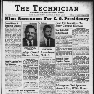 Technician, Vol. 29 No. 20, March 4, 1949