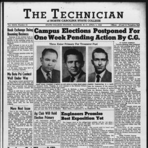 Technician, Vol. 29 No. 21, April 1, 1949