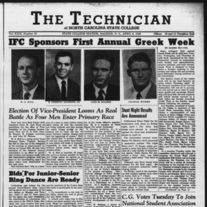 Technician, Vol. 29 No. 22, April 8, 1949