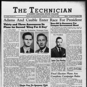 Technician, Vol. 29 No. 23, April 12, 1949