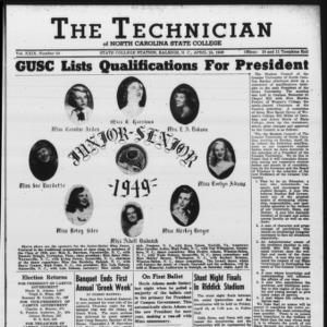 Technician, Vol. 29 No. 24, April 15, 1949