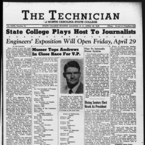 Technician, Vol. 29 No. 25, April 22, 1949