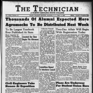 Technician, Vol. 29 No. 27, May 6, 1949