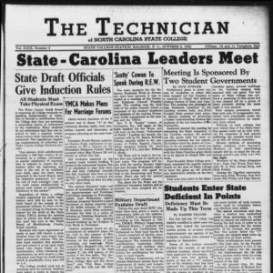Technician, Vol. 29 No. 3, October 8, 1948