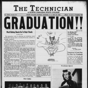 Technician, Vol. 29 No. 30, May 27, 1949