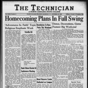 Technician, Vol. 29 No. 6, October 29, 1948