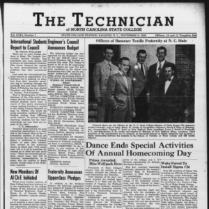 Technician, Vol. 29 No. 7 [8], November 9, 1948