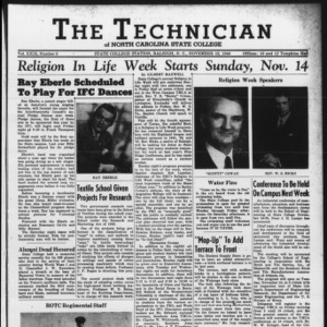 Technician, Vol. 29 No. 8 [9], November 12, 1948