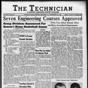 Technician, Vol. 29 No. 9 [10], November 19, 1948