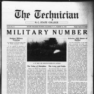 Technician, Vol. 2 No. 11, March 15, 1922
