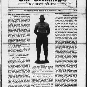 Technician, Vol. 2 No. 2, November 1, 1921