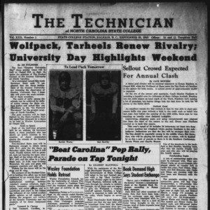 Technician, Vol. 30 No. 1, September 23, 1949