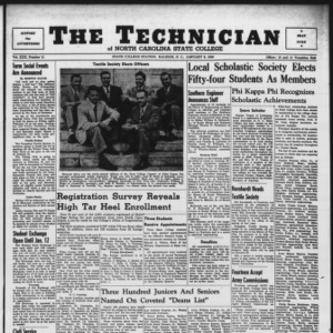 Technician, Vol. 30 No. 11, January 6, 1950