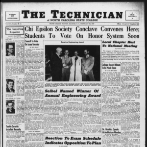 Technician, Vol. 30 No. 19, February 24, 1950