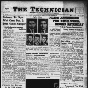 Technician, Vol. 30 No. 2, September 30, 1949
