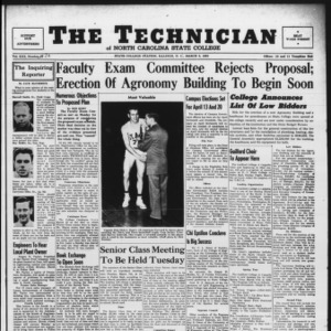 Technician, Vol. 30 No. 20, March 3, 1950